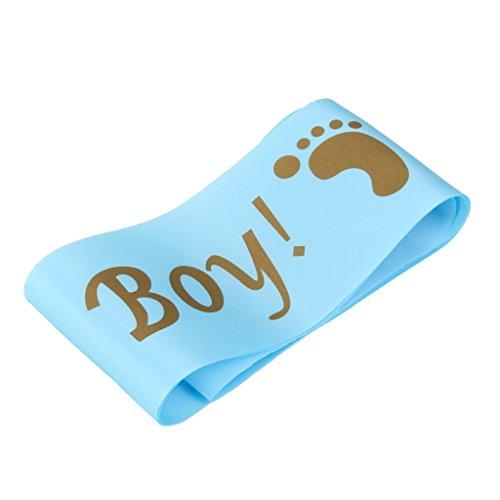 Party Satin-Schärpe Für Geburtstag Babyshower Dusche Party - Its a Boy Blau, 81 x 10 cm (Baby-dusche-its A Boy)
