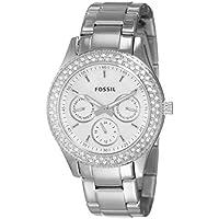 Fossil End-of-Season Stella Analog Silver Dial Women's Watch - ES2860