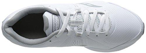 Saucony Men's Grid Momentum Walking Shoe White/Grey