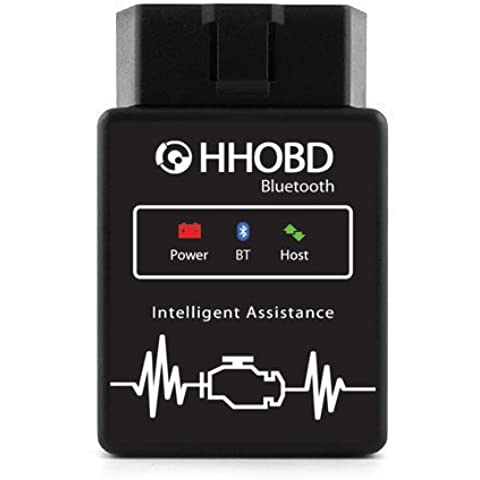 Bluetooth HHOBD Torque Android diagnóstico CAN BUS Interface - COCHE de coche OBD2 OBDII
