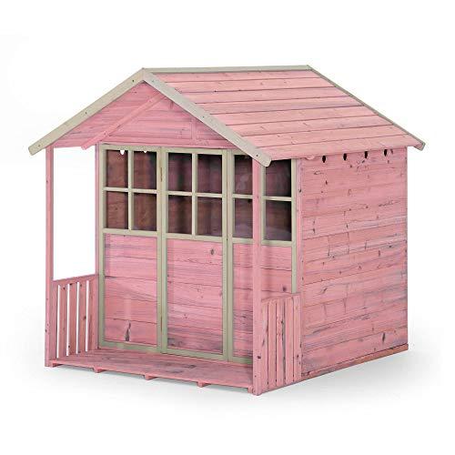 Plum® Deckhouse Wooden Playhouse Pink