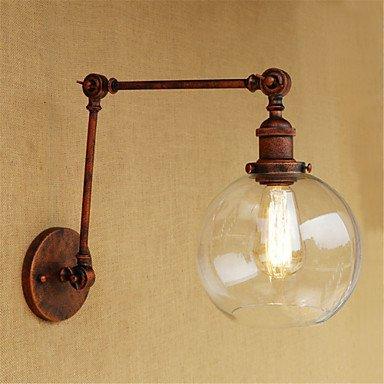 WLL AC 110-130 AC 220-240 40 e 26/E 27 Länder galvanische Retro zu Funktion der Lampe Mini einschließlich Schutz von Augen, Umgebungslicht swing reichen, Kaffee (Reiches Kaffee)