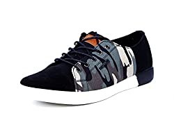 Provogue Mens Black Canvas Sneakers (PV6005) - 8 UK