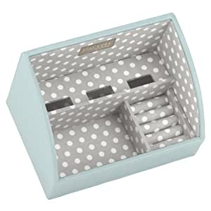 Stackers charging valet 39 mini size 39 duck egg blue stacker for Grey and duck egg blue kitchen