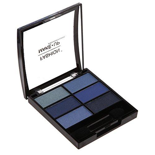 Fard Ombre à Paupières - 6 Couleurs - Dégradé de Bleu - Maquillage Yeux