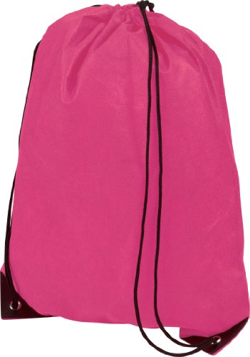 centrix-premium-gymsac-drawstring-gym-bag-rucksack-10-colours-cerise-hot-pink