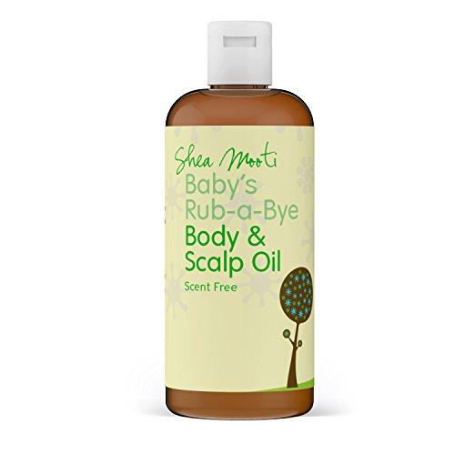 Baby 's Organic rube-a-bye Body und Kopfhaut, Öl -