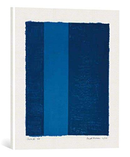 kunst für alle Leinwandbild: Barnett Newman Canto VII, 1963