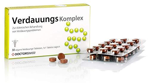Verdauungs Komplex   Natürliche Verdauungs Tabletten   gegen Magenschmerzen, Bauchkrämpfe, Völlegefühl   Verdauungsfördernd Reizdarm Kapseln   Hergestellt in Österreich von AGEPHA Pharma