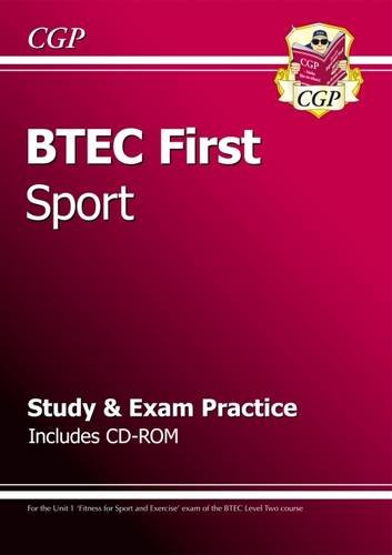 BTEC First in Sport - Study & Exam Practice with CD-ROM (CGP BTEC First)