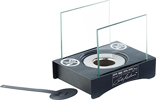 Carlo Milano Tischfeuer, dekorativ: Mini-Dekofeuer für Bio-Ethanol (Ethanol-Feuer als Tischdekos)