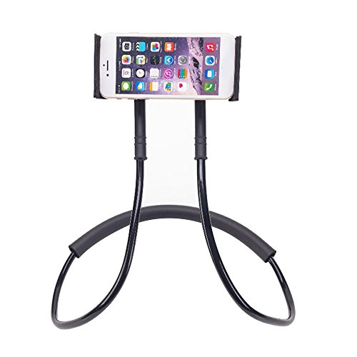 Leaftree - Holder Bracket Holder Phone Holder Lazy Convenient Portable ABS Silicone Phone Accessories Tablet Holder