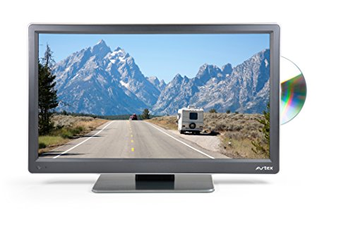 Avtex L168DR Ultra-Compact/Lightweight Widescreen Full HD LED TV/DVD/PVR - Black, 16-Inch