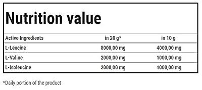Trec Nutrition BCAA 4:1:1 High Speed Amino Acid Drink, 600 g, Tropical by Trec Nutrition