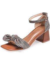SFSYDDY donna scarpe impermeabili piattaforma 13?cm tacco alto scarpe sottili tacco Spring superficiale bocca...