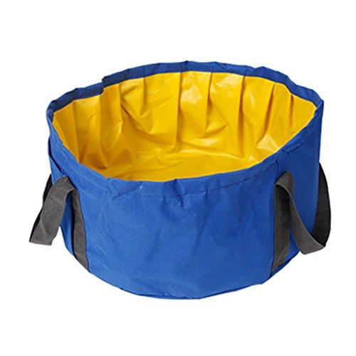 Spielzeug Kleines Haustier Schwimmbad Schwimmbad Badewanne Hund im Freien Wanne Zusammenklappbar Tragbare Kleine Hunde Teetasse Haustier (Color : Blue, Size : 46 * 22cm/18 * 9 inch)