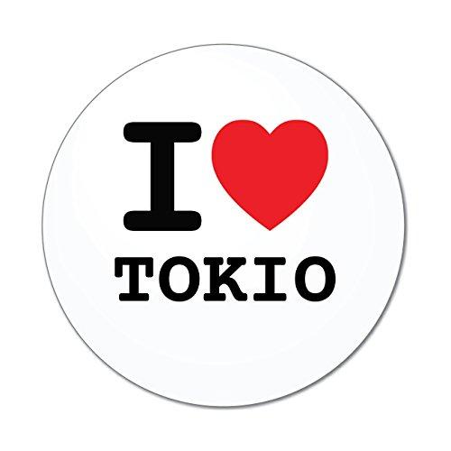 JOllify Aufkleber - Tokio - Farbe: Design: I Love - Ich Liebe