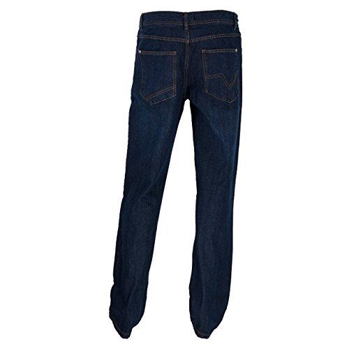 Herren Jeans Comfort Fit in blau oder grau Blau