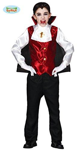 Halloween Herrscher Kostüm (Dracula Kostüm für Kinder Gr. 98/104,)