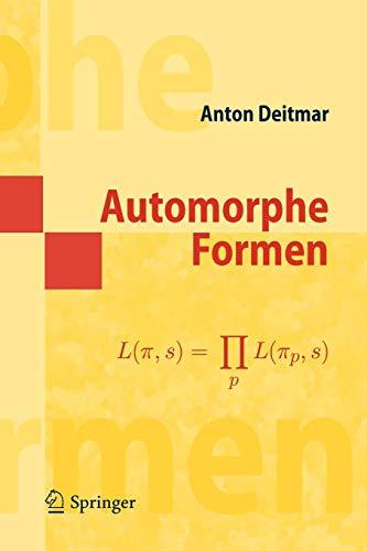 Automorphe Formen (Masterclass)