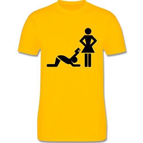 JGA Junggesellenabschied - Kreditkarte - Herren Premium T-Shirt Gelb