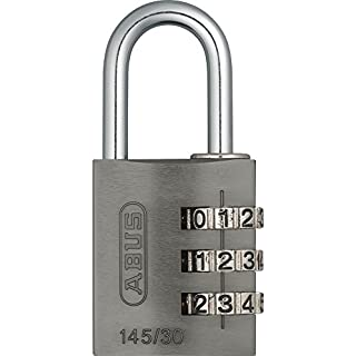 ABUS 145/30 Combination Padlock - Titanium