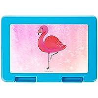 Preisvergleich für Mr. & Mrs. Panda Brotdose Flamingo classic - Flamingo, Einzigartig, Selbstliebe, Stolz, ich, für mich, Spruch, Freundin, Freundinnen, Außenseiter, Sohn, Tochter, Geschwister Brotdose, Vesperdose, Frühstücksdose, Schule, Brot, Geschenk, Arbeit, Dose, Frühs