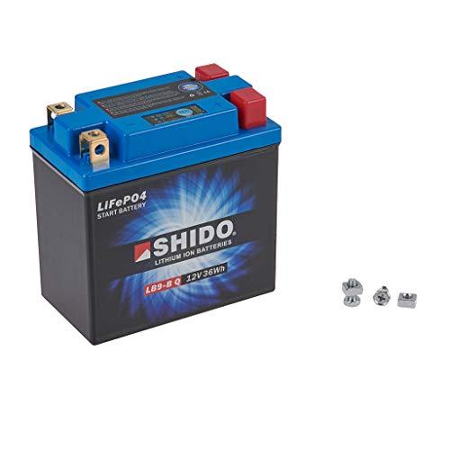Preisvergleich Produktbild Batterie 12V 3AH(8AH) YB9-B Lithium-Ionen Shido GA 125 Cruise II Classic 00