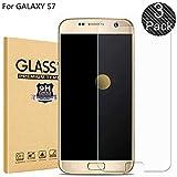 RUIST Samsung S7 Schutzfolien,Panzerglas Samsung S7,[3 Stück] Schutzglas Panzerschutz Folie Glas 9H [2,5D] Panzerfolie Glasfolie Displayschutz für Samsung Galaxy S7 Edge