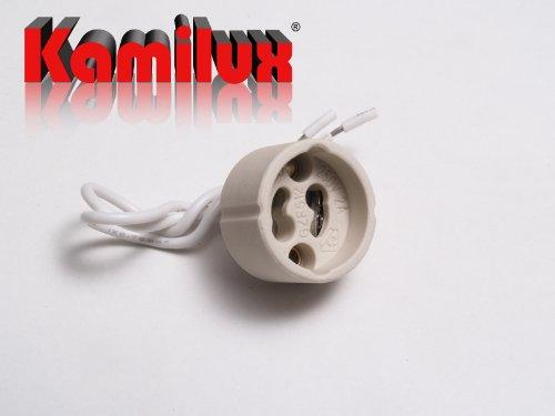1 x SMD LED Bad Einbaustrahler Jerry 230V inkl. 3Watt Leuchtmittel in warmweiß oder kaltweiß Edelstahl-geb. Optik GU10 Sockel, ((kalt)weiß) - 4