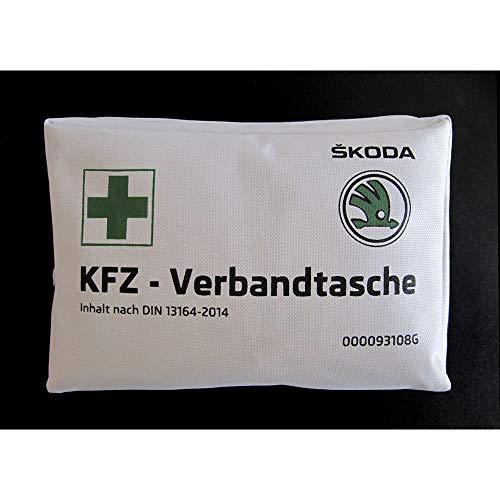 Preisvergleich Produktbild Skoda 000093108G Verbandtasche Erste Hilfe Tasche DIN 13164-2014