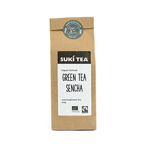 Suki Tea Loose Green Tea Sencha 100 g (Organic)