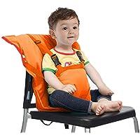 Chunse Baby-Aufladungssitz, Tragbare Hochstuhl-Reisesitz-Abdeckung, Kleinkind-Sicherheits-Säuglingsack-Gurt,Orange - preisvergleich