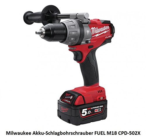 Milwaukee M18 CPD 502 C (18 V / 5,0 Ah / 7-teilig)