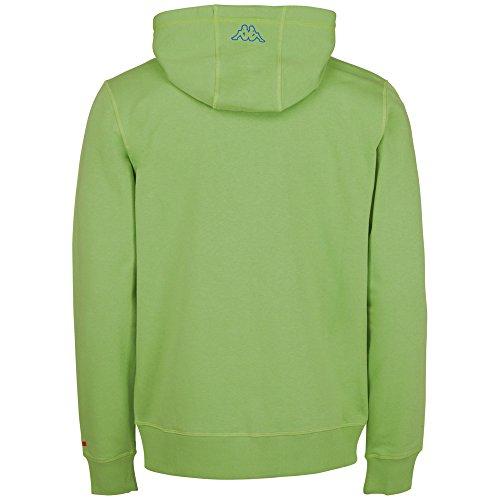 Felpa da uomo Kappa Zesiro Verde - Verde bocciolo