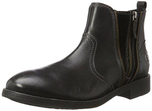 bugatti Herren F70531 Klassische Stiefel Schwarz (Schwarz)
