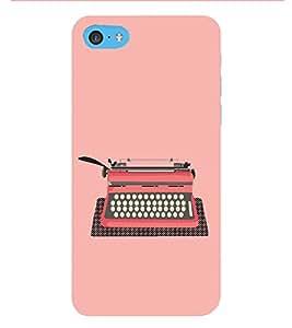 HiFi Designer Phone Back Case Cover Apple iPhone 6s Plus :: Apple iPhone 6s+ ( Typewriter Logo Typist )