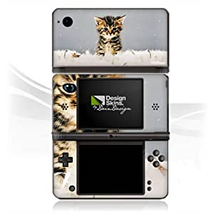 Nintendo DSi XL Case Skin Sticker aus Vinyl-Folie Aufkleber Baby Katze Kitty Cat