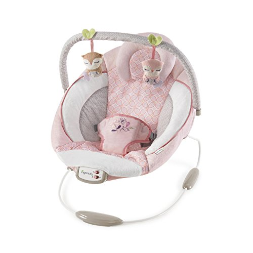Ingenuity 11202 Cradling Bouncer – Audrey Wippe, rosa
