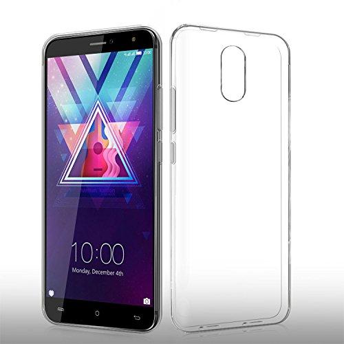Cubot HAFURY UMAX (2017) Hülle, KuGi Ultra thin Soft TPU Case für Cubot HAFURY UMAX (2017) Smartphone (transparent)
