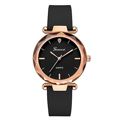 Uhren Damen Armbanduhr Mode Frauen Genf Quarz Armbanduhr der Quarz Armbanduhr Elegent Leder Uhr Analoge Quarz-Armbanduhr Klassisch Uhr Mode Armbanduhr,ABsoar