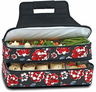 picnic-plus-psm-721rc-entertainer-hot-cold-carrier-alimentos-red-carnation