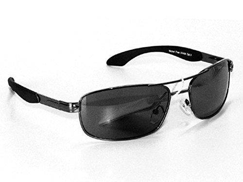 Tedd Haze Star Shadow Edition - Agent Smith mit Feder-Scharnier & Beutel leicht (Hop Hip Sonnenbrille)