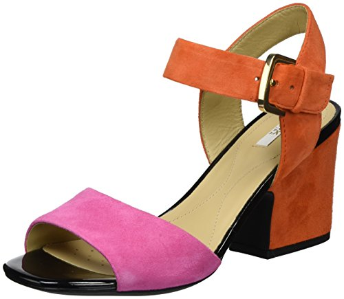 Rose B Bout Geox Sandales Ouvert Femme Orangece82t Pink Marilyse D FrFagW