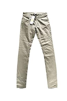 Adidas Neo Womens Denim Green Super Skinny Jeans W28 L32