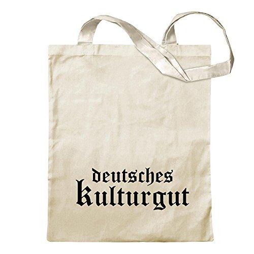 KIWISTAR - Deutsches Kulturgut Altdeutsch Jutebeutel in 12 verschiedenen Farben - Tragetasche...