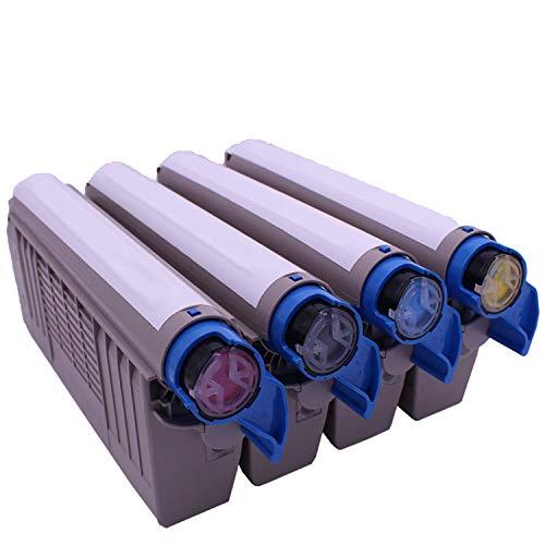 Kompatibel mit OKI-Tonerkartuschen für C710DN-Farbtonerkartuschen für medizinische Drucker-yellow -