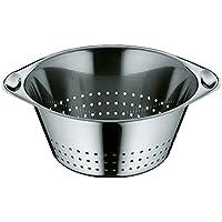 WMF Gourmet Seiher Ø 24 cm, Küchensieb, Sieb, Nudelsieb, Cromargan Edelstahl, spülmaschinengeeignet
