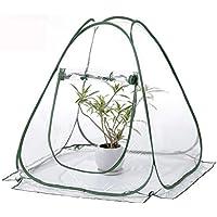 Bloomma Mini Pop-up Invernadero pequeño jardín de Interior al Aire Libre Patio Trasero Flor Refugio
