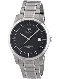 Time Piece Herren-Armbanduhr XL Analog Quarz Titan TPGT-50247-21M